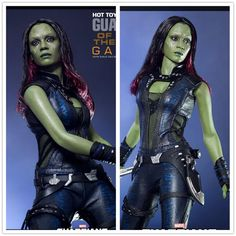 Guardians of the Galaxy Cosplay Gamora Costumes