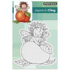 Penny Black 40-403 Sugar Plum Fairy Slapstick/Cling Decorative Rubber Stamp