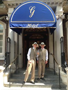 With London enjoying the lovely hot weather, our doormen have switched to their summer attire to keep cool. For each day that the temperature reaches 75°F or above, you'll be able to spot them in their very fetching waistcoats and fedora hats.