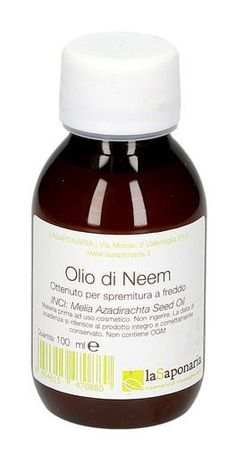 Olio di Neem Product: La Saponaria Neem Oil in DIY cosmetics. Buy it now: discounts and free shippin