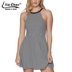 stripe twist dress Women Summer Plus Size Casual Women Clothing Sexy Open Women Dresses