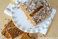 Pumpkin Quinoa Gingerbread