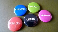 Pinback Buttons The Breakfast Club Movie