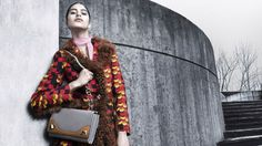Mica Arganaraz for Prada Fall Winter 2014 Women's Advertising Campaign | FashionMention