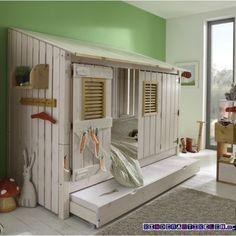 au ergew hnliche kinderbetten inspiration f rs kinderzimmer hausbett abenteuerbett und g stebett. Black Bedroom Furniture Sets. Home Design Ideas