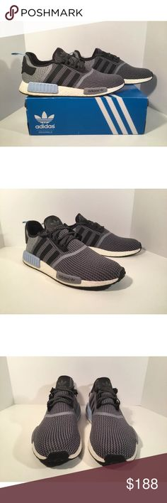 Adidas NMD R1 Item details:   -adidas brand  -in good condition  -Men's Size 14  -comes with box  -Nmd R1   All my shoes are 100% authentic. Buyer satisfaction is very important to me and I will always do my best to make sure you have a good experience when purchasing my items. I sell many hard to find, past season, and popular shoes at discount prices. If I have the box for the shoes, I always include it in the pictures. adidas Shoes Athletic Shoes