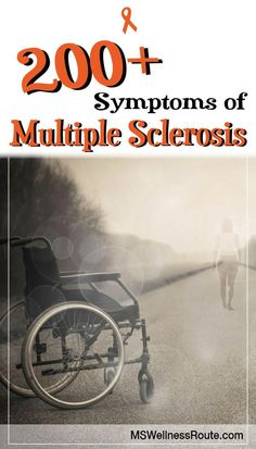 200+ Symptoms of Multiple Sclerosis