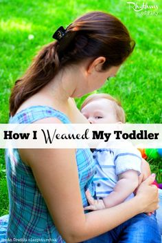 This is the story of how I weaned my toddler. I don't expect it to look like your story. Nor do I expect you to do what I did. I only hope that my story can make yours a little easier to bear. Let's face it, weaning a toddler is no easy task.