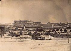 Vista de Madrid desde el Puente de Segovia, 1854-1858.  Ch. Clifford. Biblioteca Nacional de España (Madrid)