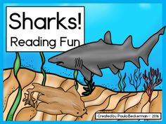"This ""jawsome"" FREE resource is a great activity for your ocean theme or shark week lesson plans! Students read sentences about sharks and match them to the correct pictures - there's even a cool shark poster included! Kindergarten Reading Activities, Reading Resources, Shark Activities, Student Reading, Kids Reading, Guided Reading, Science Lessons, Science Education, Literary Writing"