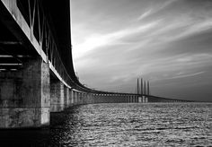 The Öresund bridge by Stefan Olsson / www.cavok.se