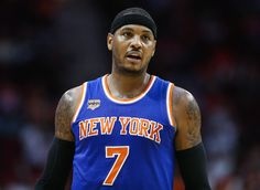 New York Knicks' Carmelo Anthony Gets All Over Slam For Top 50 Ranking | Elite Sports NY