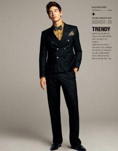 dennis oh Dennis Oh, The Fashionisto, Mens Fashion Wear, Dapper Men, Yellow Shirts, Korean Men, Well Dressed Men, Fashion Brand, Men's Fashion