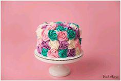 Flower colorful mini cake