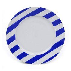 Marc Blackwell Dessert/Salad Plate - Sea Blue at Fivestripes.com
