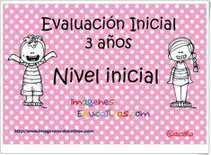 """""""Evaluación Inicial de Educación Infantil de 3 años"""" Home Learning, Toddler Learning, Preschool Education, Preschool Activities, Teacher Hacks, Home Schooling, After School, Social Work, Homeschool"""