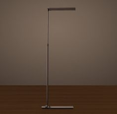 Slimline Floor Lamp Bronze for living room - (Restoration Hardware)