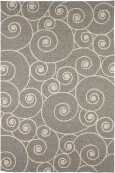 Jaipur Rugs Coastal Living - Indoor / Outdoor Nautilus Gray