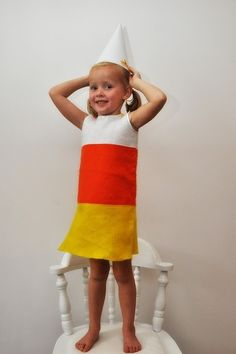 candy corn costume by tracie