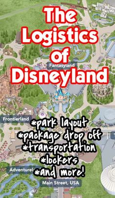 Lockers, package drop off, transportation, stroller/baby tips, and more details about the park in this post. Disneyland 2016, Disneyland World, Disneyland California Adventure, Disney World Trip, Disney World Resorts, Disney Vacations, California Trip, Disney Land, Family Vacations