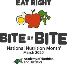 National Nutrition Month® is a nutrition education and information campaign created annually in March by the Academy of Nutrition and Dietetics. Nutrition And Dietetics, Nutrition Education, National Nutrition Month, Registered Dietitian Nutritionist, Health Lessons, Mindful Eating, Healthy Life, Wellness, Asthma