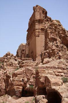 Petra, Jordan by lindadrayton Wadi Rum, Petra Tours, Places To Travel, Places To See, City Of Petra, Jordan Travel, Amman, Ancient Ruins, Ancient Greek