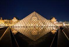 Go to the Louvre Museum, in Paris.
