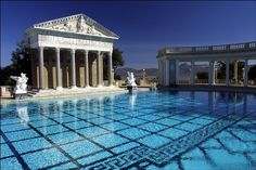 Hearst Castle is a National Historic Landmark mansion located on the Central Coast of California, United States. It was designed by architect Julia Morgan between 1919 and 1947 for newspaper magnate William Randolph Hearst, who died in 1951.