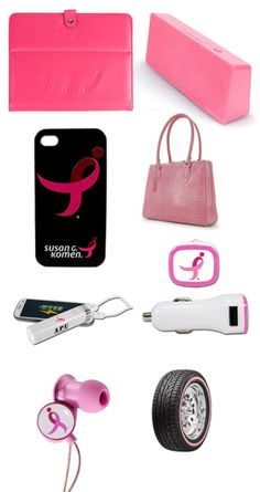 Pink gadgets for Breast Cancer Awareness Month via geeksugar.com