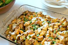 """Buffalo Chicken Bake and Homemade Ranch Dressing - A Mind """"Full"""" Mom: Inspiration From My Mind To Yours"""