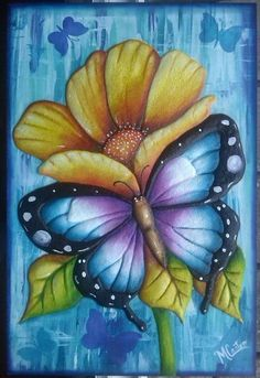 Bee Painting, Butterfly Painting, Butterfly Wallpaper, Butterfly Art, Fabric Painting, Flower Art, Watercolor Paintings, Butterflies, Animal Drawings