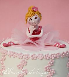 ballet cake -torta prima comunione- cake first communion by Alessandra Cake Designer, via Flickr
