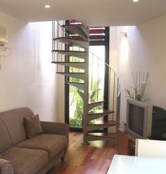 Helical Staircases - enzie | Award Winning Spiral Stairs