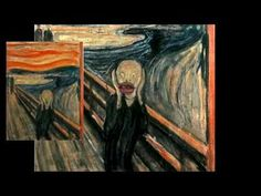The Scream- discusses Edvard Munch and Expressionism.