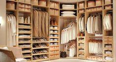 closet de homem - Pesquisa Google