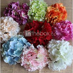 High Quality Artificial Flower Artificial Hydrangea Decortive Fumishing Articles - USD $3.99