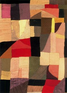 Quilt by Sonia Delaunay (1885 - 1979) | Known primarily as an abstract painter, Sonia Delaunay applied her talents and theories to all areas of visual expression, including graphics, interiors, theater and film, fashion and textiles.