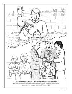 baptism coloring pg