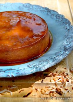 Toasted Coconut & Rum Flan
