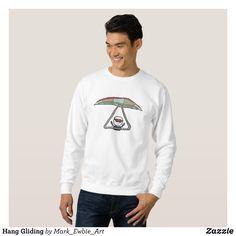 Hang Gliding Sweatshirt - Outdoor Activity Long-Sleeve Sweatshirts By Talented Fashion & Graphic Designers - #sweatshirts #hoodies #mensfashion #apparel #shopping #bargain #sale #outfit #stylish #cool #graphicdesign #trendy #fashion #design #fashiondesign #designer #fashiondesigner #style