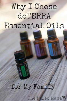 Why I Chose doTERRA Essential Oils for My Family