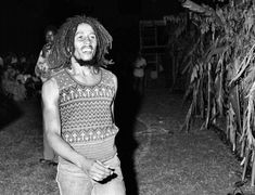 Bob Marley Approaches the Stage Dream Concert 1975