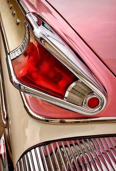 1957 Mercury taillight detail