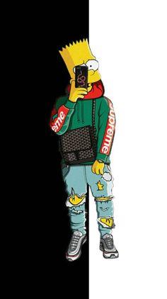 jam mrz ndac me dit Swag Cartoon, Dope Cartoon Art, Dope Cartoons, Supreme Iphone Wallpaper, Simpson Wallpaper Iphone, Cartoon Wallpaper Iphone, Deadpool Wallpaper, Graffiti Wallpaper, Nike Wallpaper