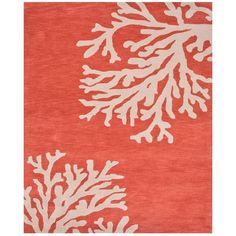 Jaipur Coastal Seaside Bough Area Rug, 8' x 11' ($1,560) ❤ liked on Polyvore featuring home, rugs, bright colored area rugs, coastal style rugs, bright colored rugs, coastal themed area rugs and coastal area rugs