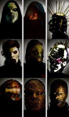Slipknot new masks 2019 Nu Metal, Rock Y Metal, Heavy Metal, Emo Bands, Music Bands, System Of A Down, Slipknot Tattoo, Slipknot Band, Rock N Roll
