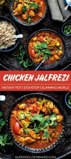 This delicious Chicken Jalfrezi is easy to make in your Instant Pot or stovetop. A must make syn-free Slimming World curry! Indian Food Recipes, Real Food Recipes, Cooking Recipes, Healthy Recipes, Savoury Recipes, Savoury Dishes, Ethnic Recipes, Pesto Pasta, Slow Cooking