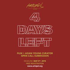 4 DAYS LEFT.  @ARKIPEL INTERNATIONAL DOCUMENTARY & EXPERIMENTAL FILM FESTIVAL online submission at www.arkipel.org  Free  #arkipel #grandillusion