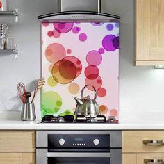 Abstract Spots - Printed Glass Splashbacks http://www.colour2glass.com/#!abstract-spots/c1ijj