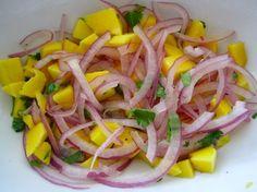Love the Vegetarian Mango Ceviche! My husband adds a touch of salsa or cayenne pepper too! #Cevichera #CostaRica locoscocoscostarica.com